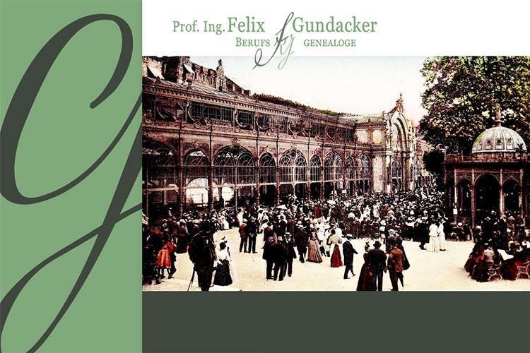 Genealoge Prof. Felix Gundacker