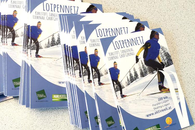 Loipenfolder Aktivwelt Freiwald