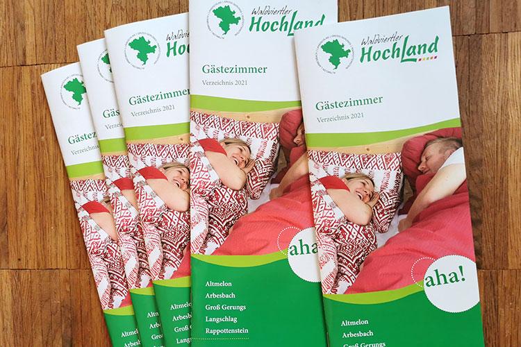 Gästezimmer Verzeichnis Waldviertler Hochland